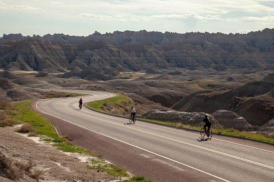 Parc national des Badlands à vélo - Privé