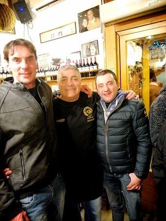 Uno dei simpaticissimi camerieri, la foto non rende giustizia alla sua somiglianza con l'attore Maurizio Mattioli