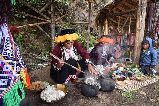 社区旅游全日Paru Paru Pisac-Cusco。