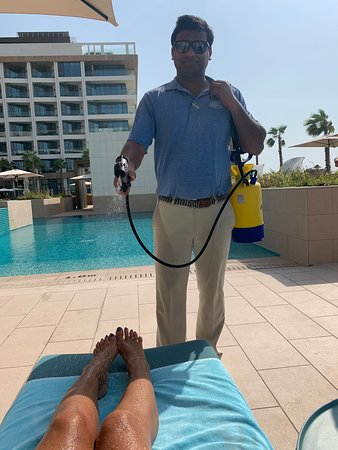 Great hotel on the beach in Dubai