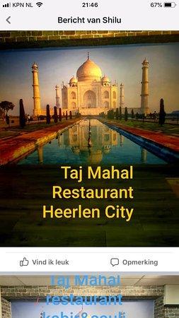 India Restaurant Heerlen Taj Mahal