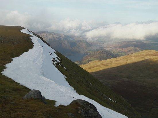 Bit of snow/ice cornicing.