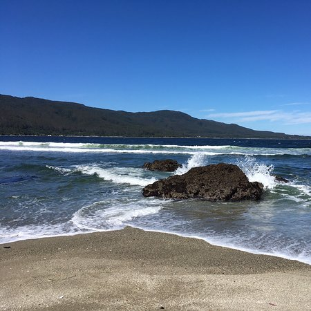 Caleta Chaihuin, Chile: Lugar tranquilo y de bonitos paisajes, ubicado media hora al sur de Corral por camino asfaltado.