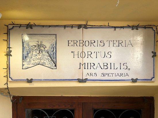 Erboristeria Hortus Mirabilis
