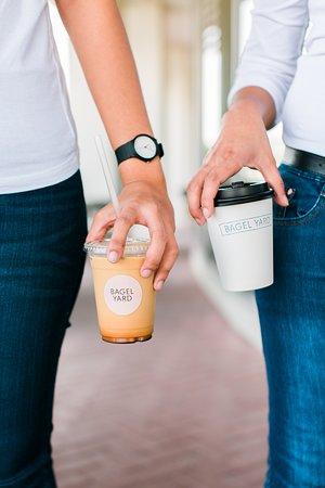 Bagel Yard: Coffee to go