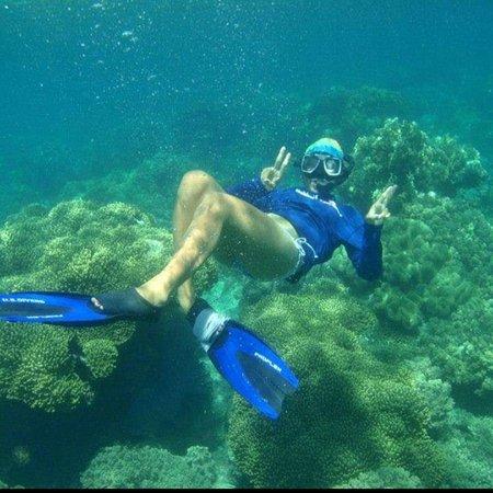 Happy snorkelling