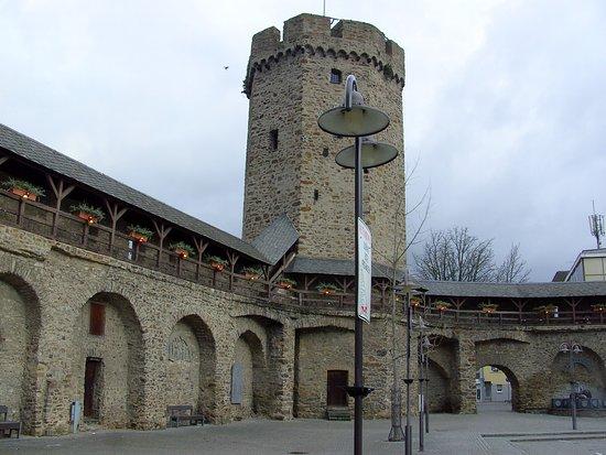 Λάνσταϊν, Γερμανία: Das ist im nahen Umfeld der Tourist Info, zu sehen...