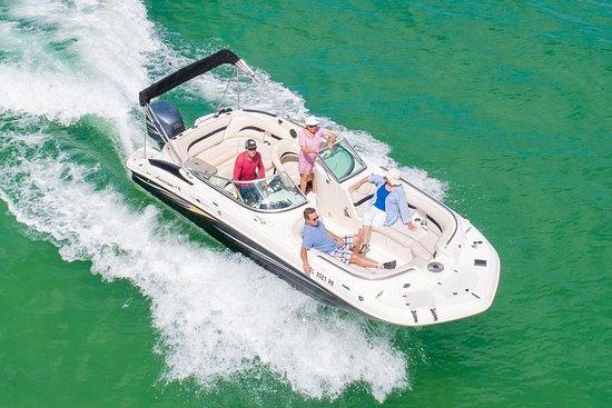 Navigation privée sur le bateau ponté Hurricane! - Plage d'Indian...