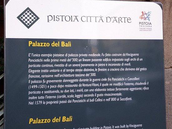 Palazzo Panciatichi (Palazzo del Balì)