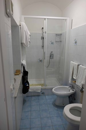Lots of room in the bathroom as well.