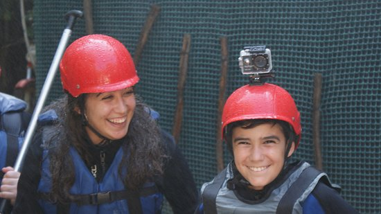 Recuerdos memorables.  Rafting Las Villas.