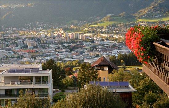 Aldrans, Österreich: Blick auf Innsbruck