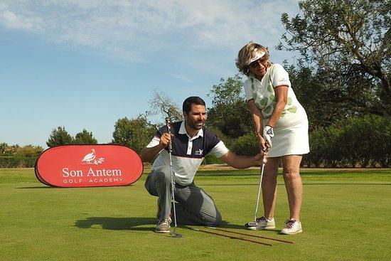Foto de Lección de golf privada