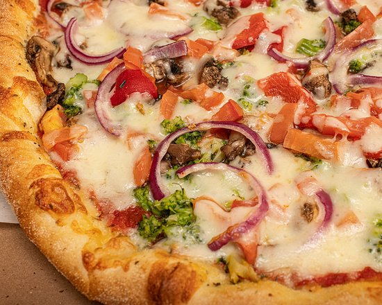 Hasbrouck Heights Pizza: veggie pizza