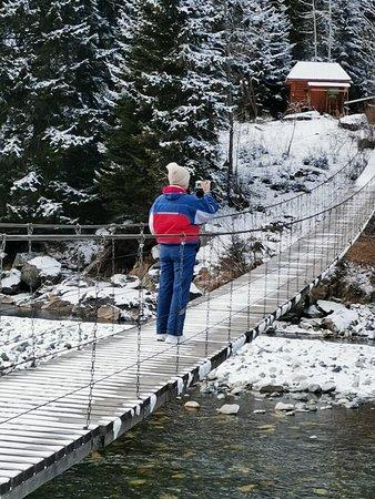 Dombay, Venäjä: Мост к Бадукским озерам