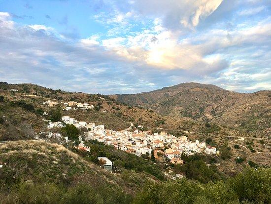 Archidona, España: The whitewashed village just northwest from Malaga is pictoresque.