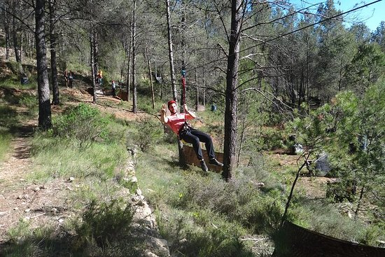Adventure and Multiadventure Circuit, Ziplines, Paintball, Climbing