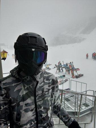 Good ski track