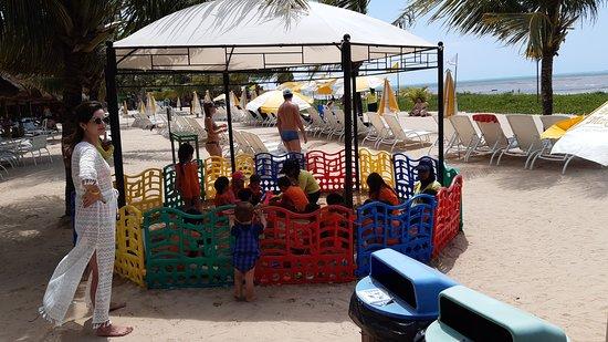 Reservado kids proximo a praia