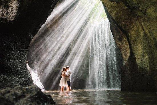 Excursões na cachoeira de Tukad Cepung