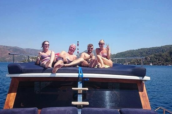 TuluBey Private Boat Trip in Marmaris