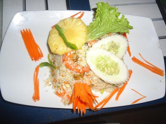 Sea food fried rice at Giragala Village and Bar