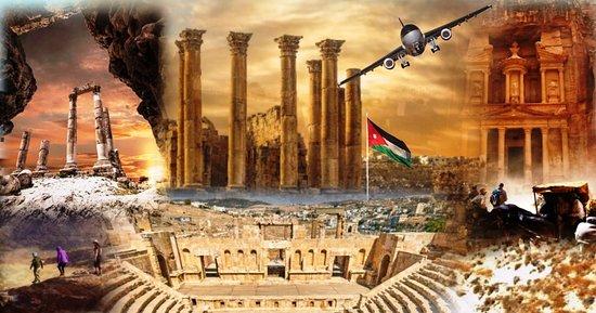 Jordania: Sites to be visited in #Jordan #Petra #Wadi_Rum #Aqaba #Dead_Sea #Amman #Jerash #Baptism #Madaba_Nebo #Karak