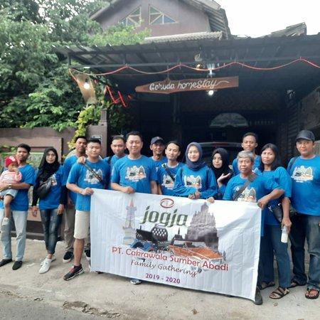 Garuada homestay tour ,transpot stanby to go Borobudur temple