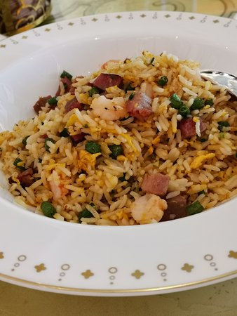 Fried rice is excellent