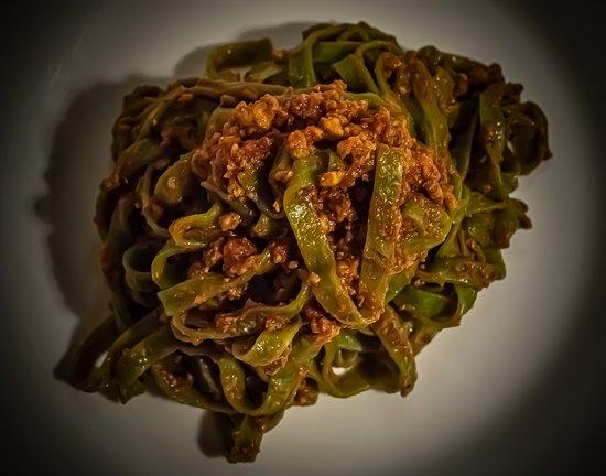 tagliatelle verdi-Trattoria dai Birichini