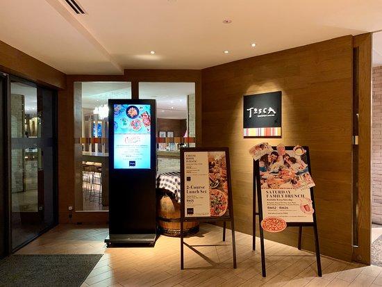 Tosca Trattoria Italiana at DoubleTree by Hilton Johor Bahru