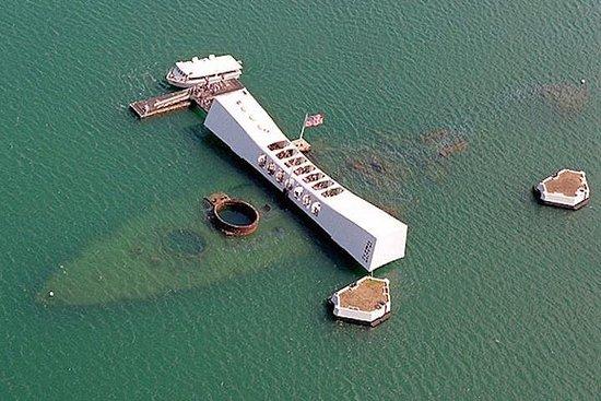 Excursion familiale à Pearl Harbor...