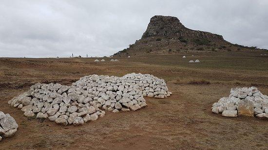 Isandlwana Battlefield and graves