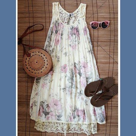 viscose dresses