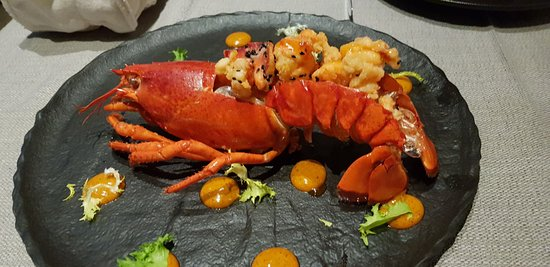 The Lobster - looks amazing! But does it taste like anything?