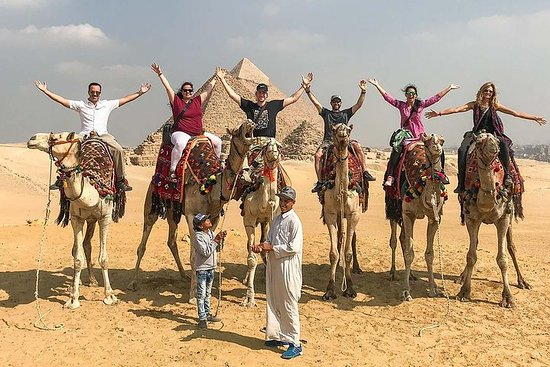 Pyramids Of Giza With Camel Ride And The Egyptian Museum Trip Resmi