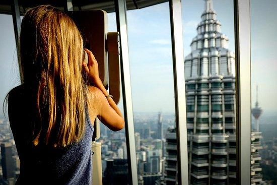 Spring linjen Petronas Twin Tower Billet med gratis hotel levering-billede
