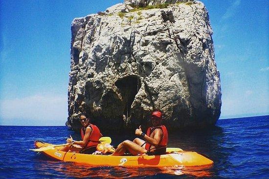 Cala Benirràs - Voyage multiactivité en kayak
