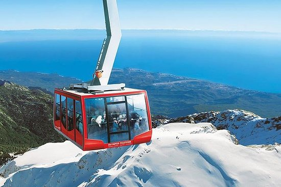 Skip the Line: Olympos Cable Car Ride Ticket from Mountain Peak to...