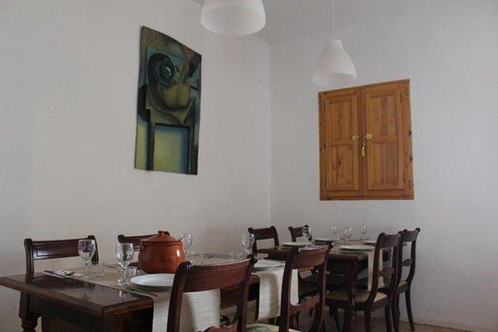 Querol, สเปน: Comedor espacioso. Comida tradicional catalana