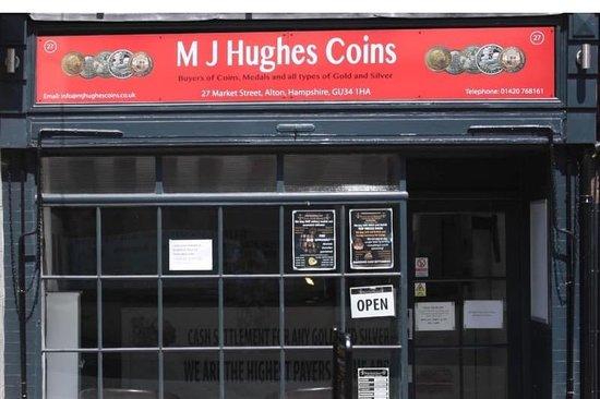 M J Hughes Coins