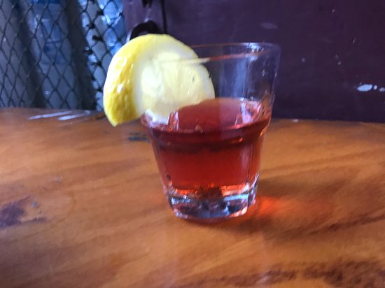 Total New Orleans Tour: Food, Cocktails & Jazz: Next was Pirates All Cafe for a Sazerac.