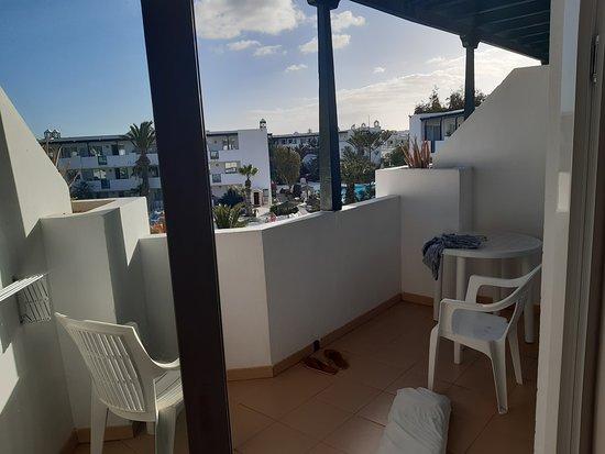 Lovely size balcony