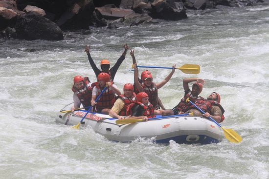 White Water Rafting in Zimbabwe: We did it!!