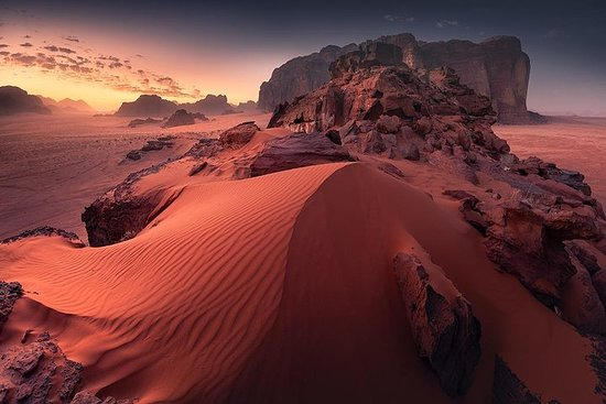 Petra and Wadi Rum in one day
