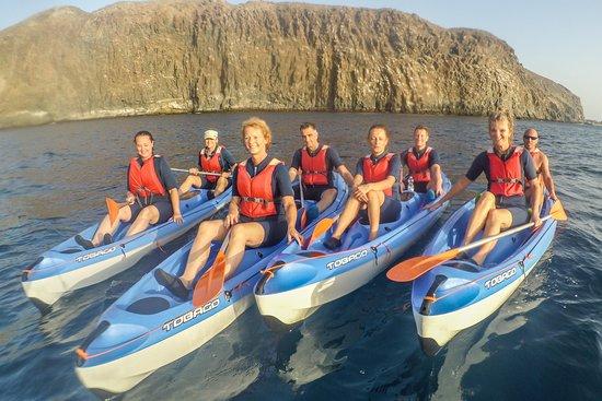Kayaking Atlantis