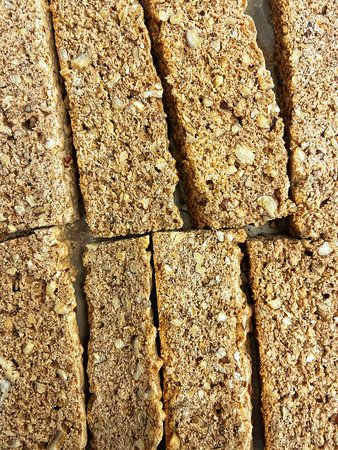 Pecan biscotti to enjoy with our Café Campesino small farmer, organic fair trade coffees.