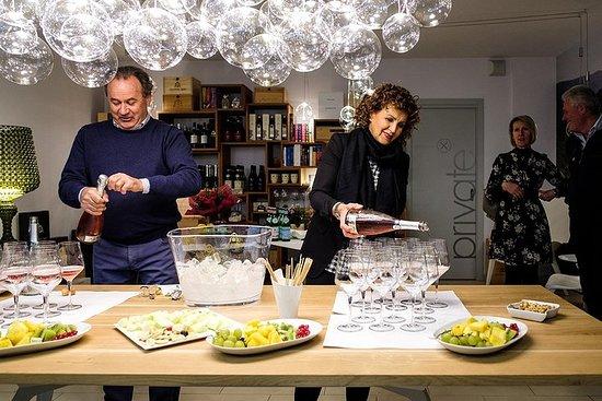 """""""Réserve"""" dégustation de vins Valpolicella à la cave Accordini"""