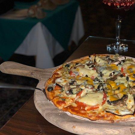 Leckere Pizza. Freundliches Personal
