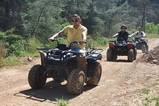 Safari en quad et en buggy